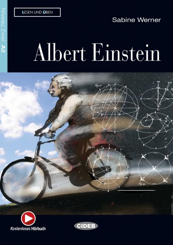 BLACK CAT - ALBERT EINSTEIN + CD (A2)