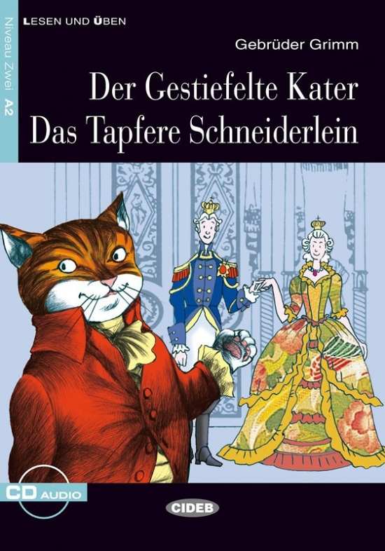 BLACK CAT - GESTIEFELTE KATER DAS TAPFERE SCHNEIDERLEIN + CD (A2)