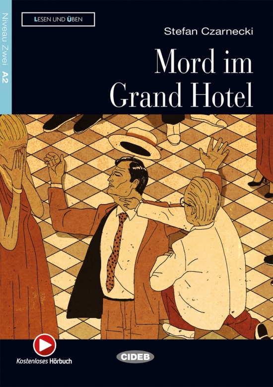 BLACK CAT - Mord im Grand Hotel + CD (A2) NEUAUSGABE