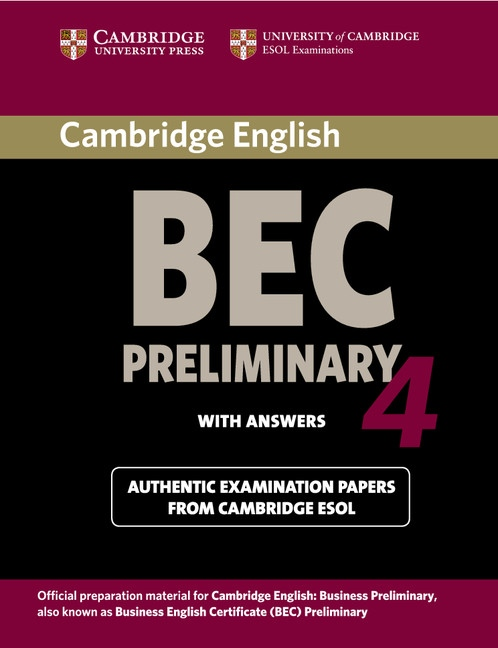 Cambridge BEC Preliminary 4 Student´s Book with Answers