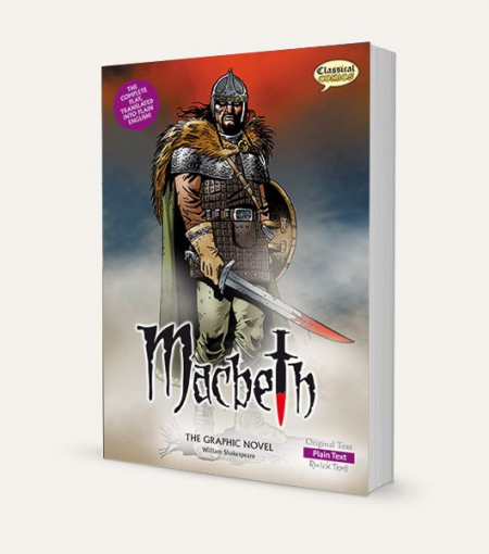 Macbeth (W. Shakespeare): The Graphic Novel: Plain Text
