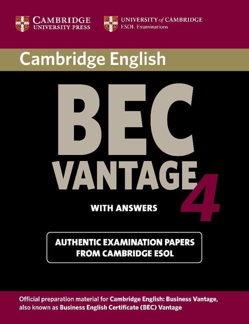 Cambridge BEC Vantage 4 Student´s Book with Answers