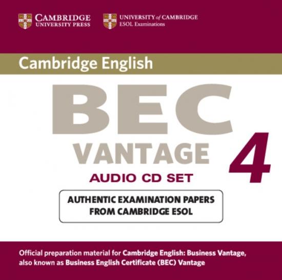 Cambridge BEC Vantage 4 Audio CDs (2)