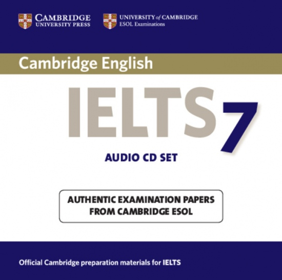 Cambridge IELTS Audio CDs (2) 7