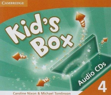 Kid´s Box 4 Audio CDs (2)
