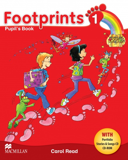 Footprints 1 Pupil´s Book Pack (Pupil´s Book, CD-ROM, Songs & Stories Audio CD & Portfolio Booklet)