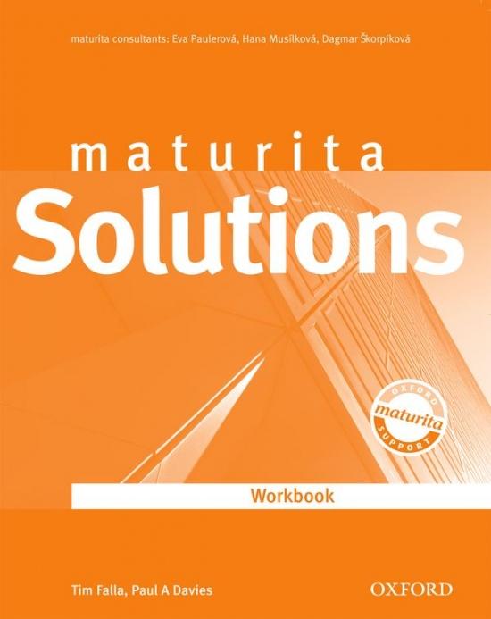 Maturita Solutions UPPER INTERMEDIATE WORKBOOK Czech Edition