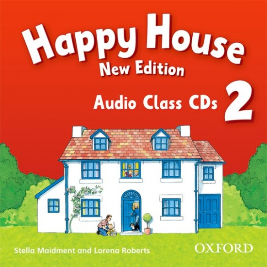 Happy House 2 (New Edition) Class Audio CDs (2)