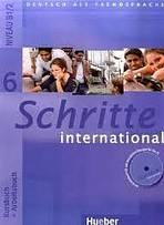 Schritte international 6 Paket - (Kursbuch, Arbeitsbuch, CZ Glossar) : 9783193918567
