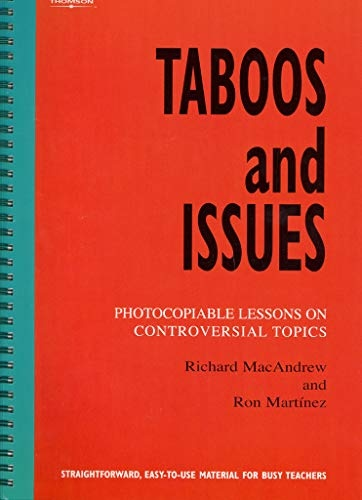 BOOKS FOR TEACHERS: TABOOS AND ISSUES