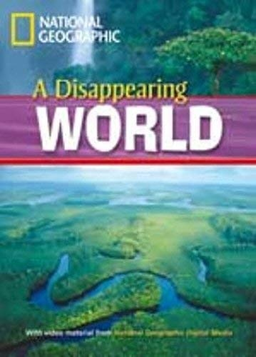 FOOTPRINT READING LIBRARY: LEVEL 1000: A DISAPPEARING WORLD with M/ROM (BRE)