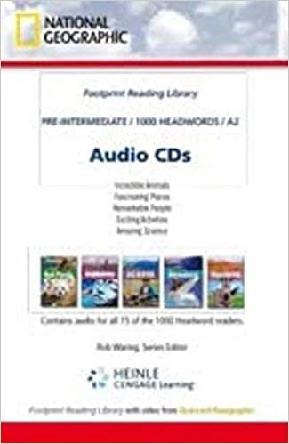 FOOTPRINT READING LIBRARY: LEVEL 1000: AUDIO CD (BRE)