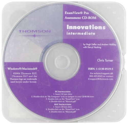 INNOVATIONS INTERMEDIATE - EXAMVIEW CD-ROM