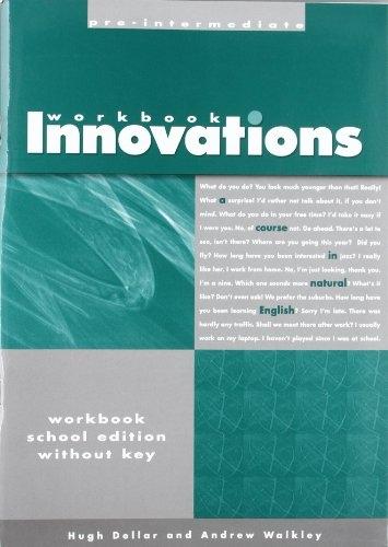 INNOVATIONS PRE-INTERMEDIATE - WORKBOOK