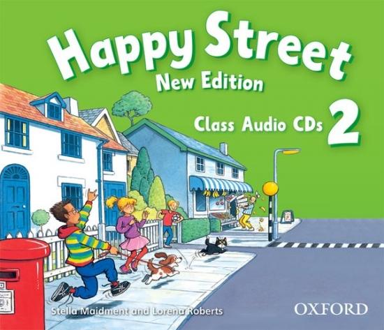 Happy Street 2 (New Edition) Class Audio CDs (2)