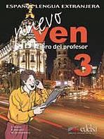 NUEVO VEN 3 PROFESOR + CD