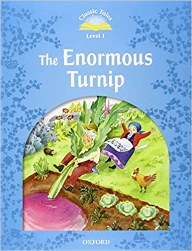 CLASSIC TALES Second Edition Beginner 1 THE ENORMOUS TURNIP + Mp3 Pack