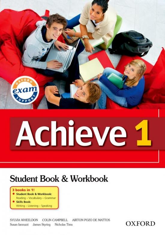 Achieve 1 Student Book. Workbook and Skills Book : 9780194556026