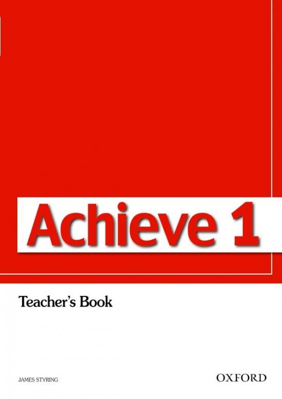 Achieve 1 Teacher´s Book