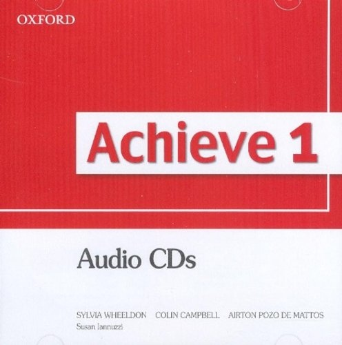Achieve 1 Class Audio CDs (2) : 9780194556064