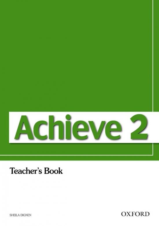 Achieve 2 Teacher´s Book