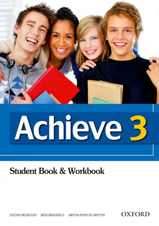 Achieve 3 Student Book and Workbook : 9780194556125