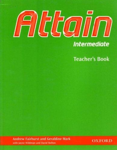 Attain Intermediate Teacher´s Book