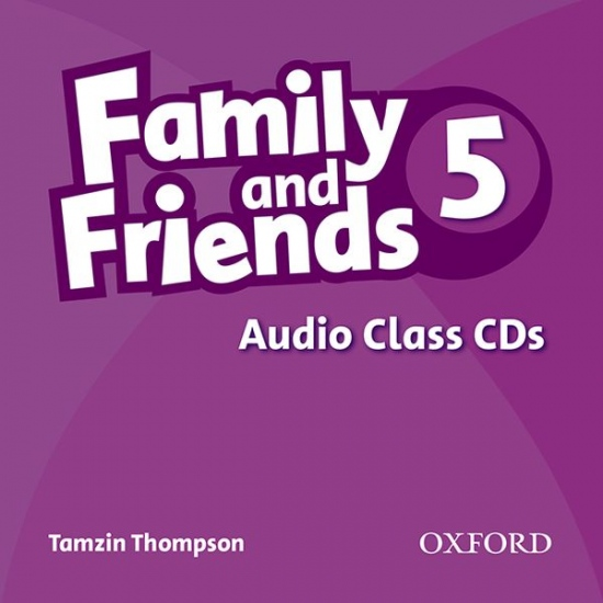 Family and Friends 5 Class Audio CD