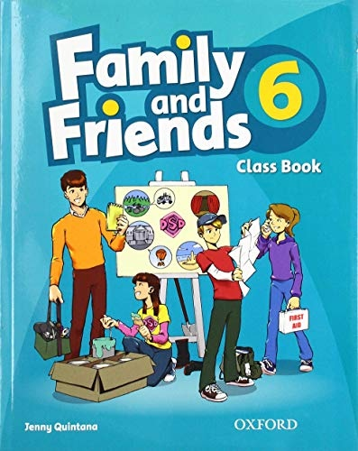 Family and Friends 6 Classbook