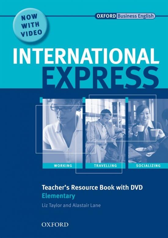 International Express Interactive Elementary Teacher´s Resource Book and DVD Pack