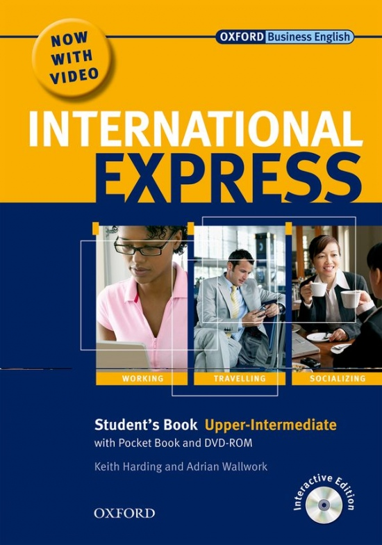International Express Interactive Upper-Intermediate Student´s Pack (Student´s Book. Pocket Book. MultiROM and DVD)