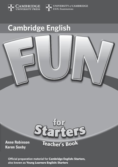 Fun for Starters (2nd Edition) Teacher´s Book