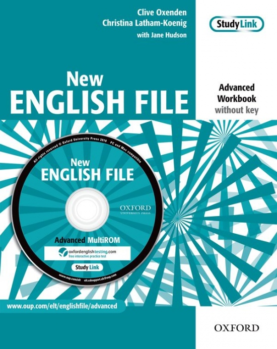 New English File Advanced Workbook Without Key And MultiROM Pack