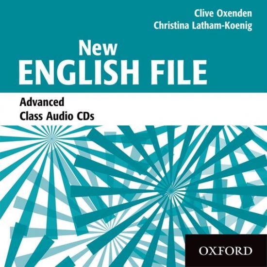 New English File Advanced Class Audio CDs (3)