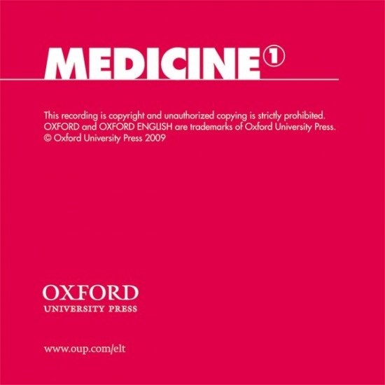 Oxford English for Careers Medicine 1 Class Audio CD