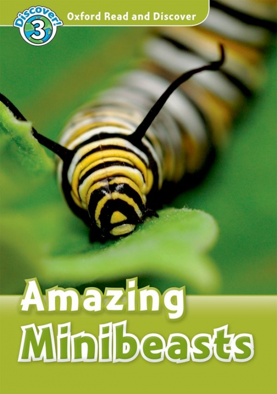 Oxford Read And Discover 3 Amazing Minibeasts Audio CD Pack
