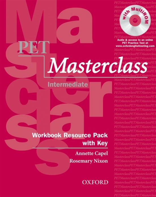 PET Masterclass Workbook Resource Pack with key