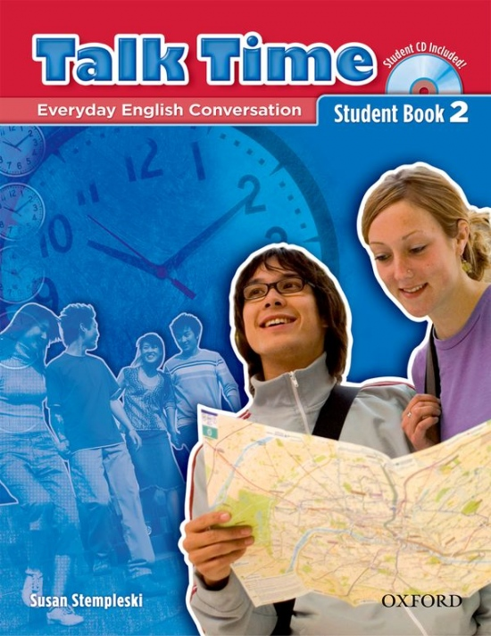 Talk Time 2 Student Book with Audio CD