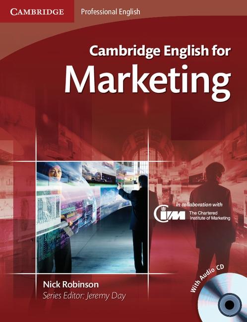 Cambridge English for Marketing