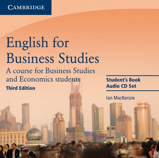 English for Business Studies 3rd Edition Audio CDs (2)