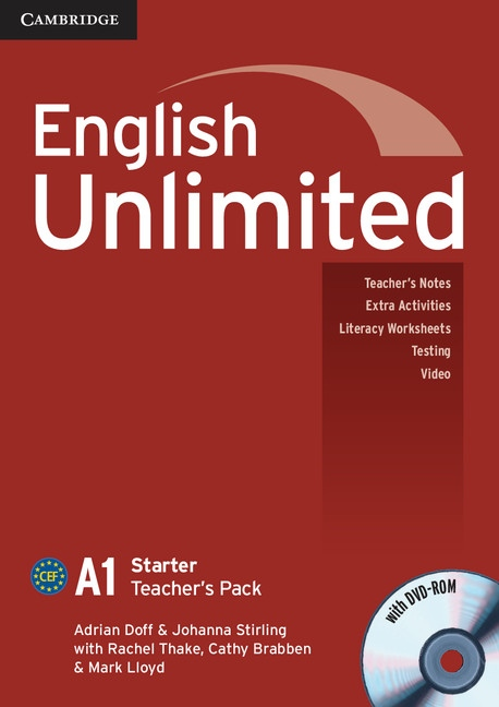 English Unlimited Starter Teacher´s Pack (Teacher´s Book with DVD-ROM)