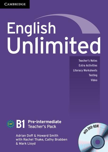English Unlimited Pre-Intermediate Teacher´s Pack (Teacher´s Book with DVD-ROM)
