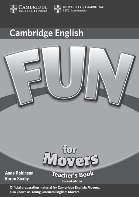 Fun for Movers Teacher´s Book 2nd Edition