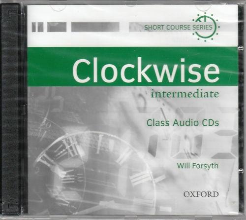 CLOCKWISE INTERMEDIATE CLASS AUDIO CD : 9780194338196