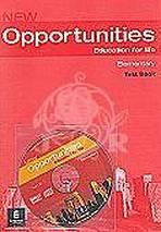 NEW OPPORTUNITIES Elementary Test CD Pack
