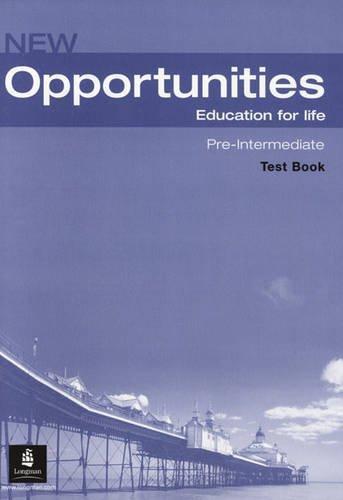 NEW OPPORTUNITIES Pre-Intermediate Test CD Pack
