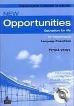 NEW OPPORTUNITIES Pre-Intermediate POWERBOOK český + CD-ROM