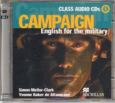 Campaign 1 Class Audio CDs (2)