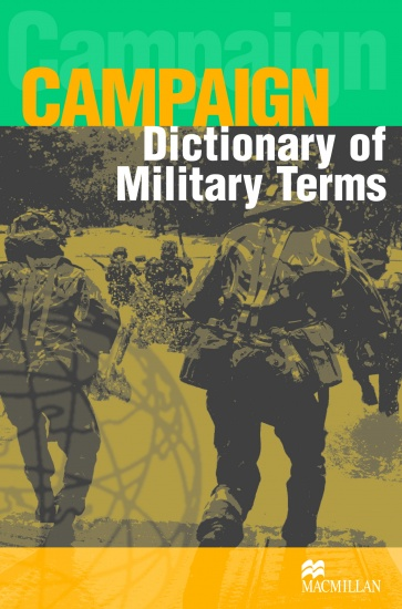 Campaign Military English Dictionary Book