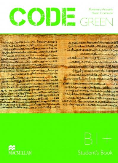 Code Green B1+ Student´s Book : 9789604472932